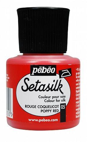 č.05 - Setasilk č.5 - 45 ml červená maková