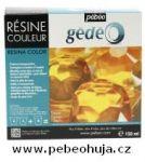 č.28 - Barevná křišťálová pryskyřice GEDEO (Pébéo) -  žlutá 150ml