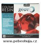 č.30 - Barevná křišťálová pryskyřice GEDEO (Pébéo) -  červená 150ml