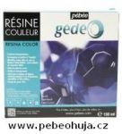 č.31 - Barevná křišťálová pryskyřice GEDEO (Pébéo) -  modrá 150ml