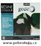 č.32 - Barevná křišťálová pryskyřice GEDEO (Pébéo) -  zelená 150ml