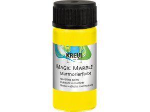 Mramorovací barva MAGIC MARBLE č.02 - 20ml citrónově žlutá