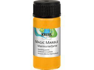 Mramorovací barva MAGIC MARBLE č.03 - 20ml sluneční žlutá