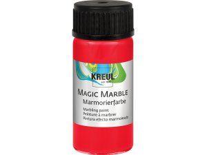 Mramorovací barva MAGIC MARBLE č.05 - 20ml červená