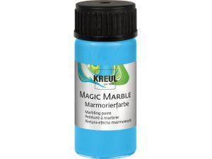 Mramorovací barva MAGIC MARBLE č.10 - 20ml světle modrá