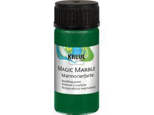 Mramorovací barva MAGIC MARBLE č.15 - 20ml tmavě zelená