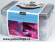Sada barev na hedvábí - Setasilk (Pebeo) - 10x45ml + doplňky