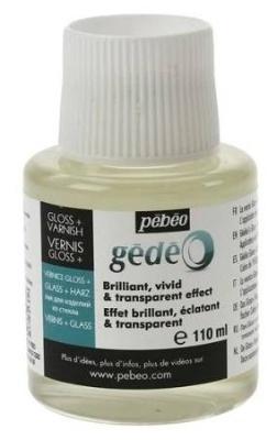 č.33 - Gedeo lesklý závěrečný lak GEDEO (Pébéo) - 110ml
