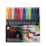 Sada Koi Coloring Brush - 12ks