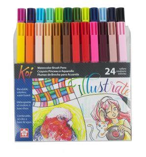 Sada Koi Coloring Brush - 24ks
