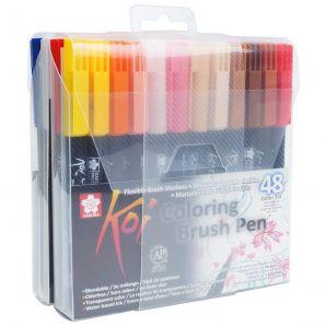 Sada Koi Coloring Brush - 48ks