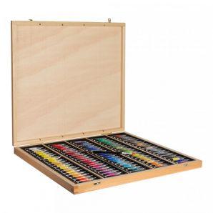 Sennelier Akvarel v tubě - sada 98x10ml v dřevěném kufříku