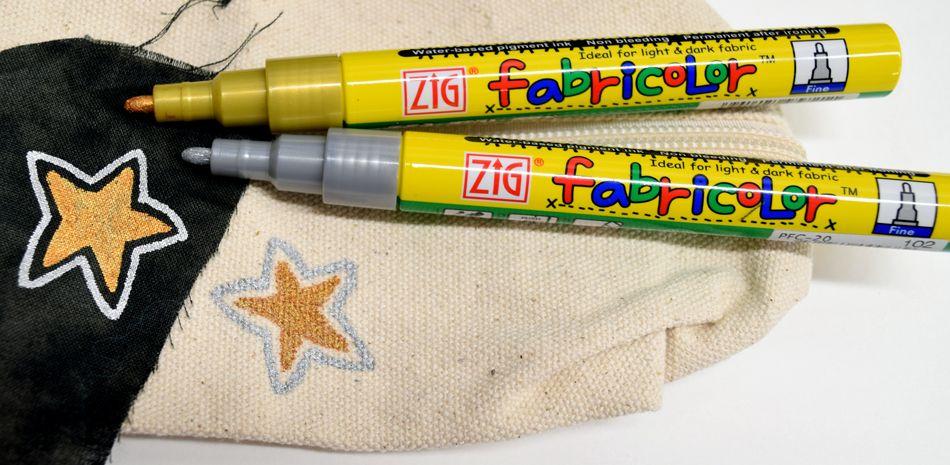 Textilní popisovač FABRICOLOR (Zig)