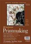 400 Printmaking skicák - lepený na krátké straně (Canson 280 g/m2)   20 x 25,4 cm - 20 archů, 28 x 35,6 cm - 20 archů