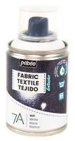 Barva na textil ve spreji (Pébéo) - 100ml Bílá