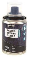 Barva na textil ve spreji (Pébéo) - 100ml Černá