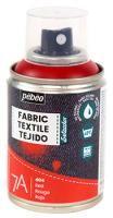 Barva na textil ve spreji (Pébéo) - 100ml Červená