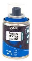 Barva na textil ve spreji (Pébéo) - 100ml Modrá