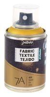 Barva na textil ve spreji (Pébéo) - 100ml Zlatá