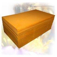 č.01 - Včelí plát (mezistěna) - 21,5x37cm - přírodní žlutá