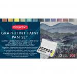 D GRAPHITINT PAINT PAN SET Derwent -12ks