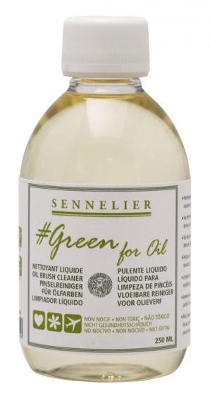 Green for oil - čistič štětců, 250ml