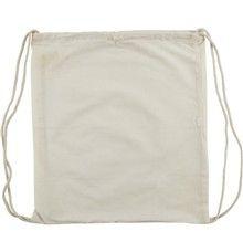kopie Plátěný batoh se stahovacími šňůrkami 38x42cm natural