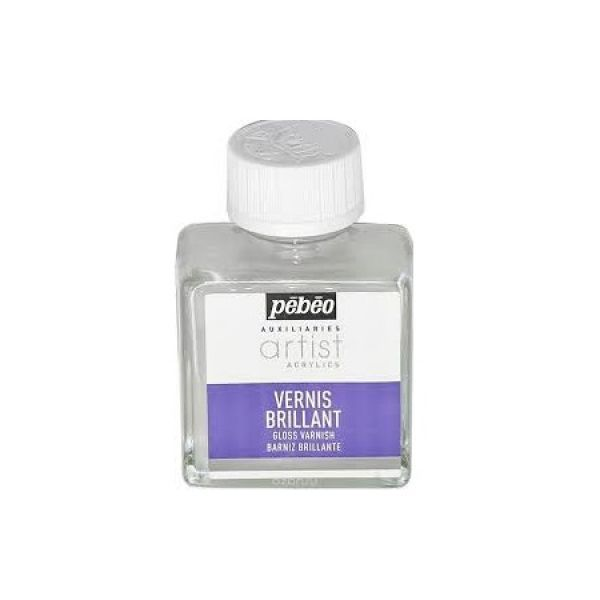 Lesklý lak vodou ředitelný pro akryl. barvy 75 ml