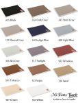 Mi-Teintes Touch Art Boards (350g, 50x65cm) - jednotlivě   White, Sky Grey, Steel Grey, Flanel Grey, Sepia, Black, Dark Grey, Sand, Cream