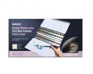 MUNGYO prázdná plechová krabička na akvarelové půlpánvičky - 48ks
