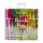 RT Ecoline Brush Pen X10 Botanic
