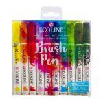 RT Ecoline Brush Pen X10 Bright