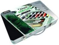 Sada akrylových barev ATELIER SET (Pebeo) - v plechovém kufříku