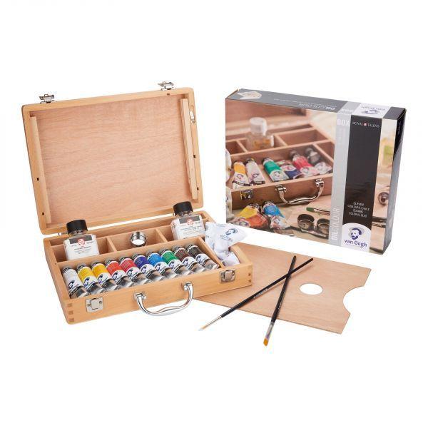 Sada olejových barev Van Gogh v kufříku Basic