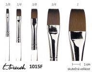 Štětec T- brush Transparent 1015F - plochý | 1015F - plochý č.1.8, 1015F - plochý č.1.4, 1015F - plochý č.3.8, 1015F - plochý č.1.2, 1015F - plochý č.5.8, 1015F - plochý č.3.4, 1015F - plochý č.1