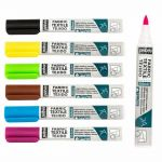 7A Markers Light Fabric 1mm   02 Yellow, 03 Orange, 04 Red, 05 Pink, 06 Violet, 07 Light blue, 08 Blue, 09 Light Green, 11 Green, 12 Brown, 13 Light grey, 14 Black, 71 Fluo yellow, 73 Fluo orange, 73 Fluo pink, 74 Fluo violet, 75 Fluo blue, 76 Fluo green