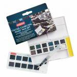 D Tinted Charcoal Paint Set - 12ks