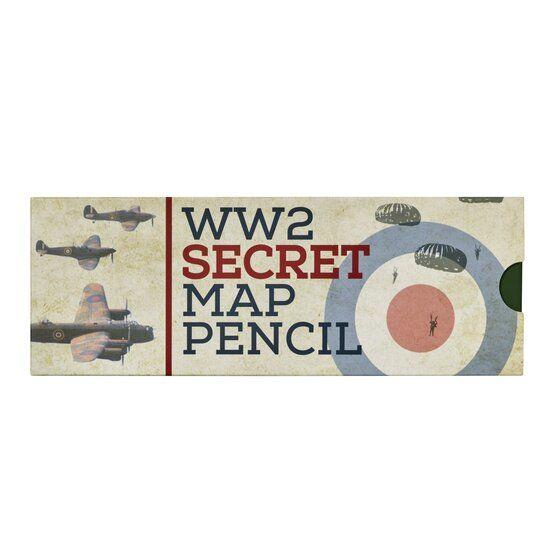 D WW2 Secret Map Pencil