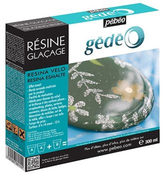 Gédéo glazurovací pryskyřice sada 300 ml