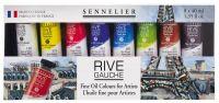 Sada olejových barev Rive Gauche - 8 x 40 ml